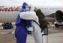 Sebanyak 241 orang berhasil dikembalikan ke tanah air oleh Tim Pemulangan Pemerintah Indonesia. (Kementerian Luar Negeri RI)