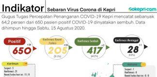 Data Corona Kepri