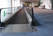 Aktivitas di bandara sepi di masa pandemi