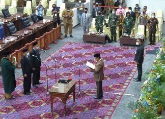 Yusuf dan Taufik dilantik jadi anggota PAW DPRD Provinsi Kepri
