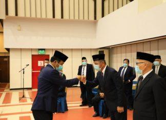 Pelantikan pejabat BP Batam