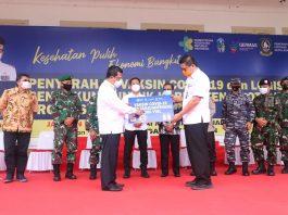 Penyerahan vaksin untuk Kota Tanjungpinang