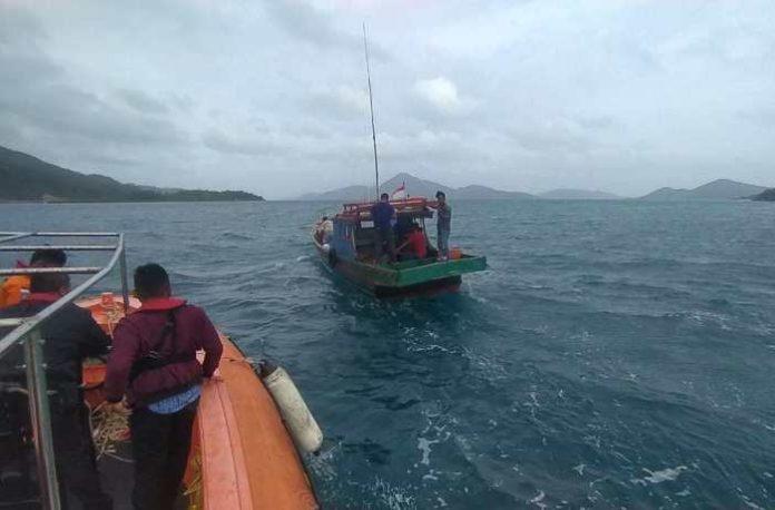 Tim SAR menemukan kapal nelayan yang sebelumnya hilang kontak di Perairan Anambas.