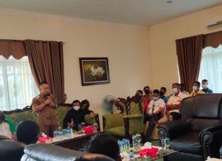 Rapat kerja KONI Lingga