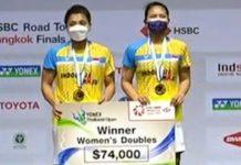 Winner Greysia Polii dan Apriyani Rahayu