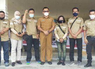 Wartawan Bintan dan Tanjungpinang peringati Hari Pers Nasional.