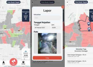 Aplikasi banjir UI