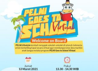 Pelni Goes to School Virtual