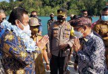 Wakil Ketua DPR RI, Rachmat Gobel, berkunjung ke Kabupaten Lingga, Selasa (2/3/2021)