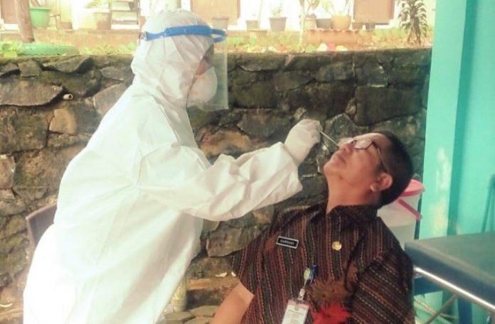 Rapid test antigen di MTQ Tanjungpinang