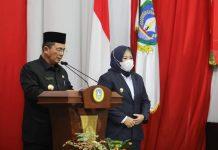 Gubernur Kepri Ansar Ahmad dan Wakil Gubernur Marlin Agustina