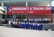 Rumah Sakit Badan Pengusahaan (RSBP) Batam meresmikan layanan Trauma Center, pada Jumat (5/3/2021).