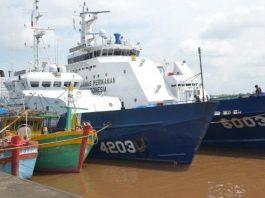 Kelima kapal Vietnam yang ditangkap di Laut Natuna Utara, antara lain KM. BD 93277 (28,6 GT), KM. BD 30925 TS (27 GT), KM. BD 30135 TS (23 GT), KM. BV 99689 TS (27 GT), dan KM. BV 78409 (27 GT).