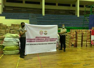 Polda Bali menyalurkan bantuan korban banjir dan tanah longsor di Provinsi Nusa Tenggara Timur (NTT).