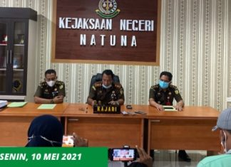 Kejaksaan Negeri Natuna menaikkan kasus pengelolaan dana desa Ceruk di Natuna ke tahap penyidikan.