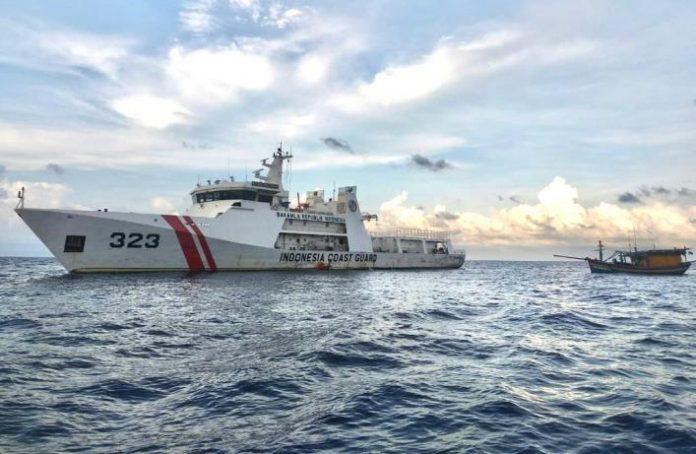 Penangkapan kapal pencuri ikan dengan bendera Vietnam