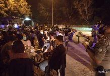 Satuan Tugas Penanganan Covid-19 Kota Batam terus mengintensifkan penegakan disiplin di sejumlah tempat aktivitas warga, Sabtu (15/5/2021) malam.