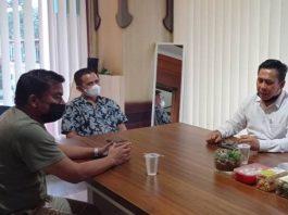 M. Al Ichsan, tokoh muda Batam saat mengunjungi kantor redaksi gokepri.com, Kamis (20/5/2021).