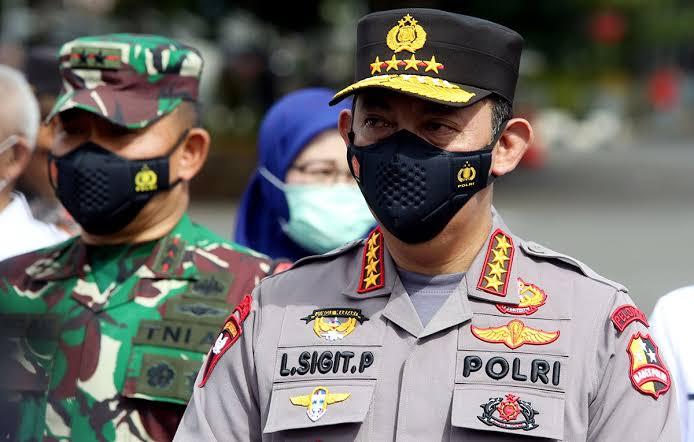 Panglima TNI Marsekal Hadi Tjahjanto bersama Kapolri Jenderal Polisi Listyo Sigit Prabowo melakukan kunjungan kerja ke Papua, Kamis (27/5/2021).