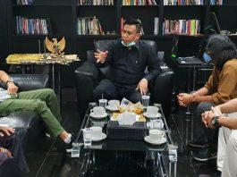 Tokoh muda Batam, M. Al Ichsan saat bincang santai bersama gokepri.com, Selasa (29/6/2021).