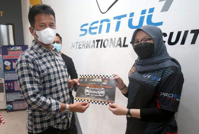 Wali Kota Batam, Muhammad Rudi meresmikan Batam Digital Motor Sport (BDMS) yang digagas Ikatan Motor Indonesia (IMI).
