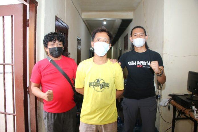 Opsnal Jatanras Satreskrim Polresta Barelang membekuk seorang pelaku jambret, Rabu (2/6/2021).