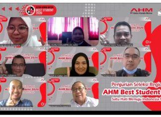 PT Astra Honda Motor (AHM) kembali menggelar kompetisi di bidang pendidikan dalam program AHM Best Student 2021.