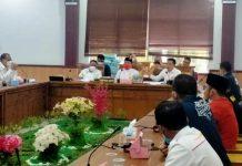 Rapat Dengar Pendapat Umum mengenai Penangguhan Pembayaran Angsuran Pembiayaan Kredit/Leasing di ruang rapat Komisi I DPRD Kota Batam, Selasa (22/6/2021).