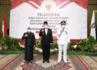 Wakil Wali Kota Tanjungpinang dilantik