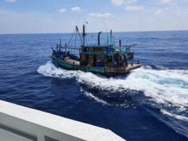 Kapal pencuri ikan Malaysia