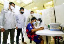 BSI berkolaborasi dengan Pemko Jakarta Pusat menggelar vaksinasi Covid-19 dari masjid ke masjid dan jemput bola kepada 400 warga Jakarta selama dua hari pada 24-25 Juli 2021.