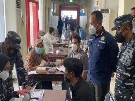 Vaksinasi di Pelabuhan SRI Bintan Pura