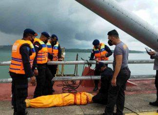 Jasad seorang pria ditemukan di Jembatan Barelang, Sabtu (10/7/2021).