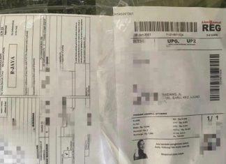 Barang bukti paket narkoba yang digagalkan Bea Cukai Batam di paket kiriman.
