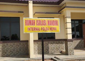 Polda Kepulauan Riau (Kepri) menyiapkan Rumah Isolasi Mandiri khusus bagi anggota Polri yang terkonfirmasi positif Covid-19.