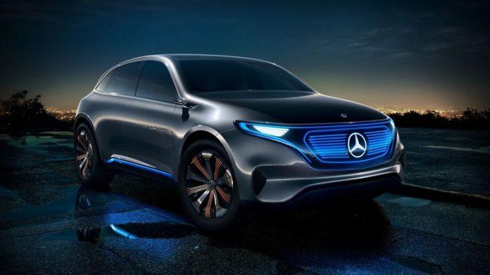 Mercedes Mobil Listrik