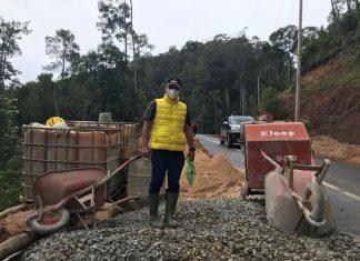 Proyek Jalan di Lingga