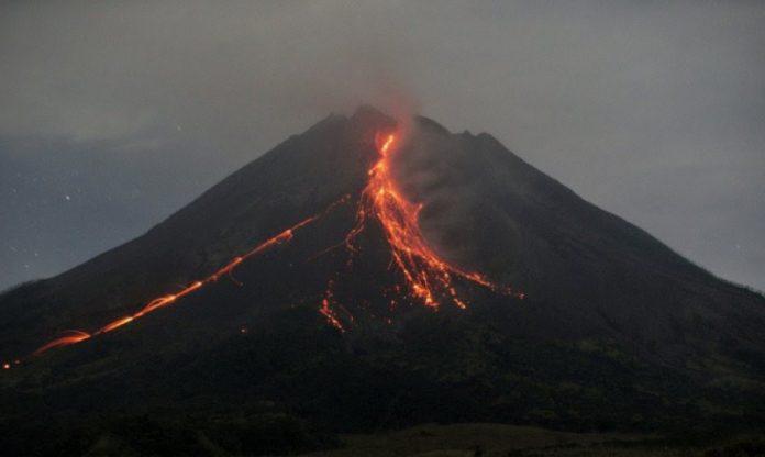 Gunung Merapi Lava