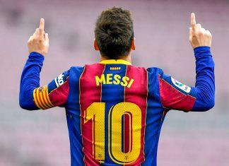 Era Messi di Barcelona