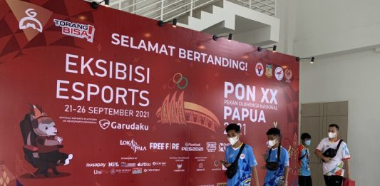 Eksibisi Esport PON Papua