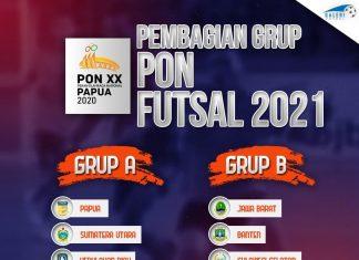 Futsal PON Papua