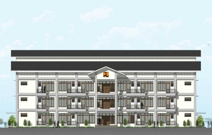 Ground breaking Sekolah Tinggi Teologi Real Batam di Nongsa, Kota Batam, Jumat 10 September 2021