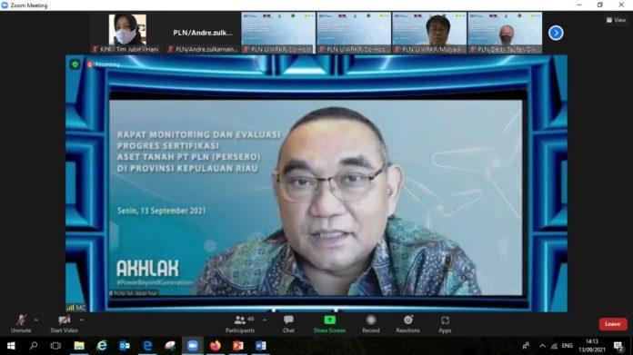Kepala Satuan Tugas Koordinasi Supervisi Wilayah I KPK Maruli Tua.