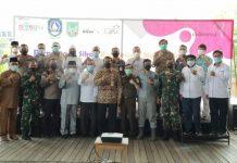 Deklarasi tokoh masyarakat se-Kelurahan Sambau dan Konsorsium Nongsa Sensation siap mengampanyekan Nongsa sebagai destinasi wisata.