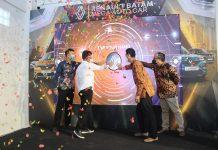 Wali Kota Batam, Muhammad Rudi, meresmikan Renault Mega Auto Car Batam di Renault Mega Auto Car Batam, Jumat (24/9/2021).