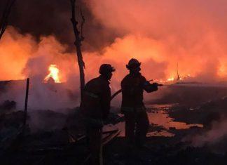 Lapas Tangerang terbakar