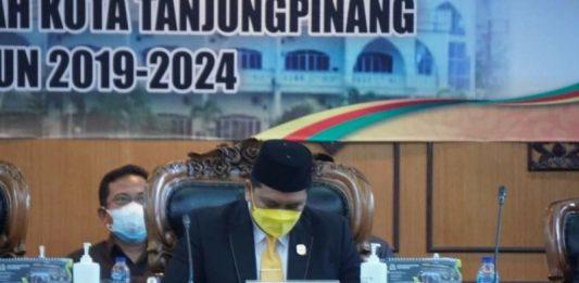 APBD-P Tanjungpinang 2021