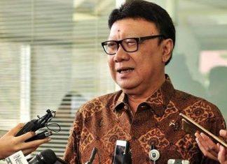 Menteri Pendayagunaan Aparatur Negara Reformasi Birokrasi (Menpan RB) Tjahjo Kumolo