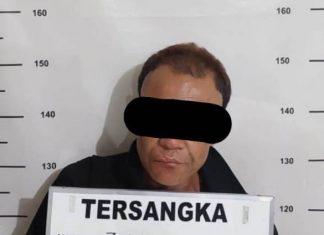 Z als TOM (47), residivis kasus pencurian kendaraan bermotor (curanmor) di wilayah Sekupang saat diamankan Polsek Sekupang.
