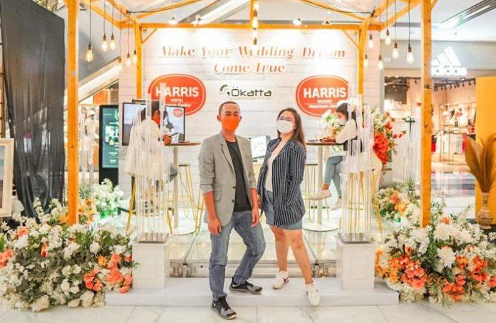 Harris Hotel Batam Center dan Harris Resort Waterfront Batam kembali menggelar pameran pernikahan di akhir tahun 2021, 'Wedding Fair Year End Sale 2021'.